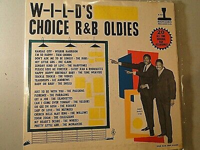 Vinyl Album LP,  33.3 RPM, W-I-L-D's Choice R&B Oldies (1960) Boston & NE Oldies