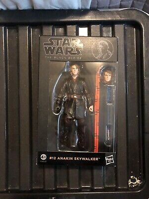 Star Wars The Black Series 6 Inch #12 Anakin Skywalker New And Sealed