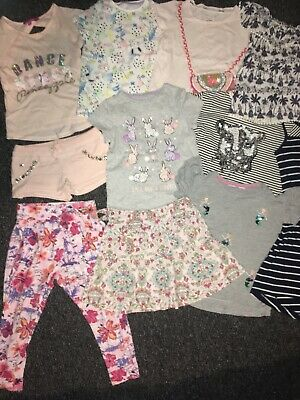 Girls summer clothes bundle age 5-6 holiday