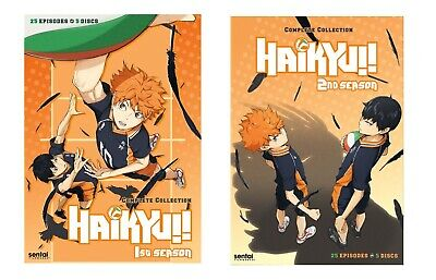 New Sealed Haikyu! - The Complete First & Second Season DVD 1 2