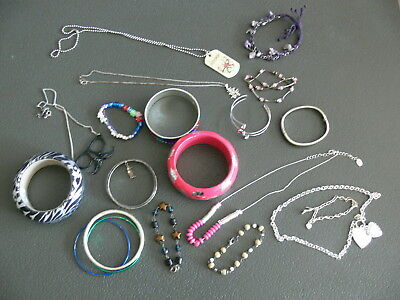 Job Lot Of Claires Costume Jewellery - Dress Up Or Holiday