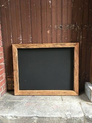 Double Sided Large Chalkboard, Recycled Timber, Rustic Blackboard