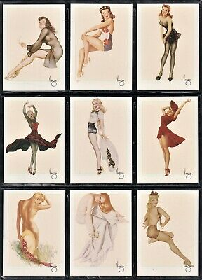 ALBERTO VARGAS Complete Mint Set 50 Pinup Trading Cards 21ST Century Archives