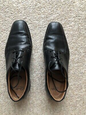 Clarks mens shoes size 8 Extra Wide