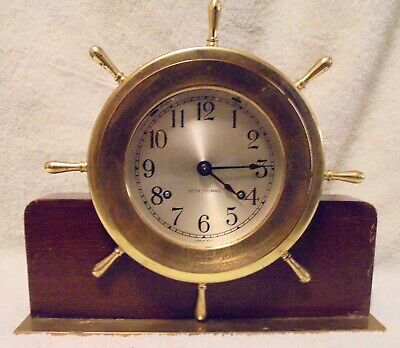 Seth Thomas Clock Co Ships Bell Clock