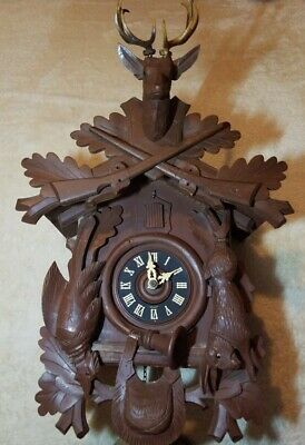 Schmeckenbecher 8-Day Black Forest Cuckoo Clock -Complete-Works-