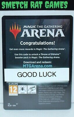 MTG Arena Theros Beyond Death Promo Arena Code Booster Pack Digital Delivery