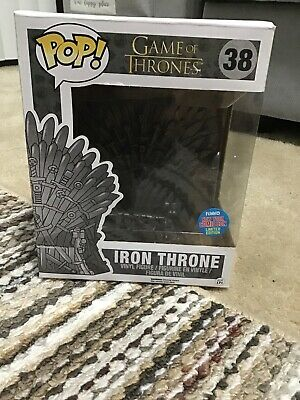 Funko Pop Game of Thrones: Iron Throne #38 NYCC Exclusive 6 Inch