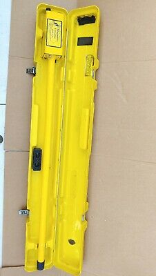 schonstedt magnetic locator GA-52 CX With Hard Carrying Case.