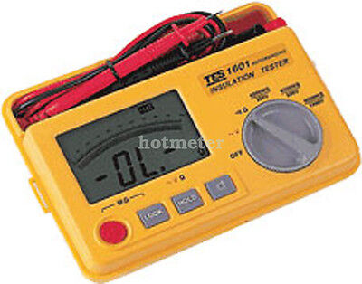 H● TES-1601 Auto Ranging Insulation Tester new