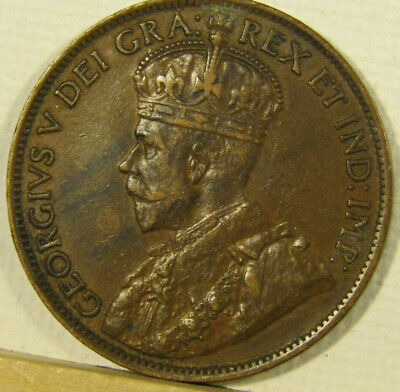 1914 CANADA CENT KM# 21 ** shipping included **