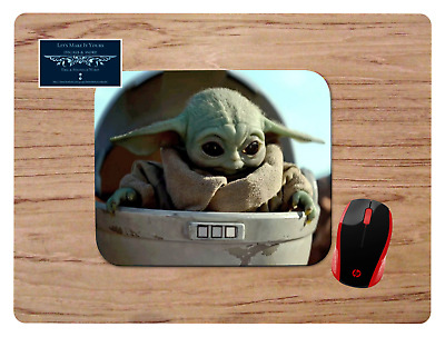 Baby Yoda #6 Mousepad Mouse Pad Home Office Gift Star Wars The Mandalorian