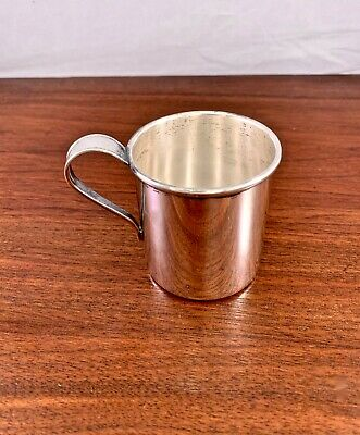 Stieff Co. Sterling Silver Baby Cup: No Monogram 90G