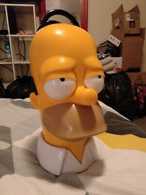 Homer Cookie Jar Rare Novelty Collectable 8/10 Special Collectors Item Simpsons