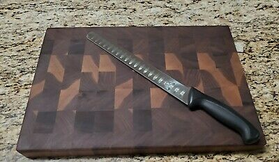 Black Walnut Butcher Block Cutting Board New End Grain