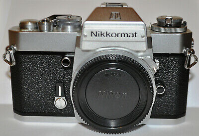 NIKON Nikkomat EL Chrome body, very clean, working light meter.