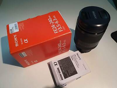 Sony FE 24-240mm F3.5-6.3 OSS Lens (SEL24240) - AU Stock