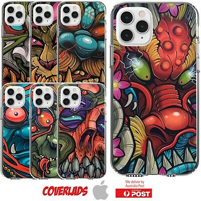 Silicone Cover Case Scary Horror Monster Cartoon Mask Beast Face - Customlads