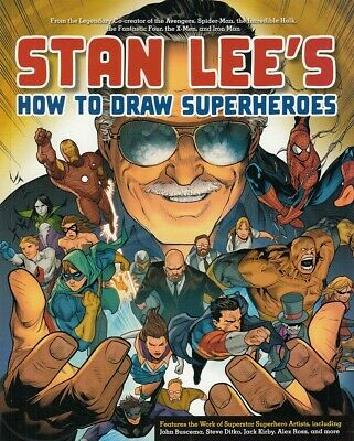 Stan Lee's How to Draw Superheroes Jack Kirby Steve Ditko Alex Ross