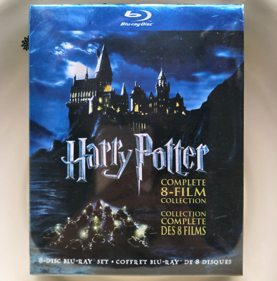 Harry Potter: Complete Box Set 8-Film Collection (Blu-ray Disc, 2011 8-Disc Set)