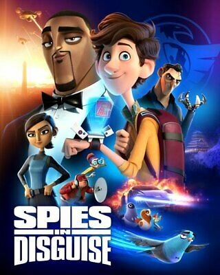 Spies in Disguise (Blu-ray 4K + Case + Slip) Never Viewed Pre-Order 1-Disc