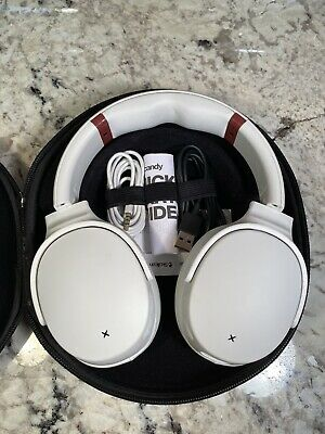 Skullcandy - Venue Wireless Noise Cancelling Over-the-Ear Headphones - White