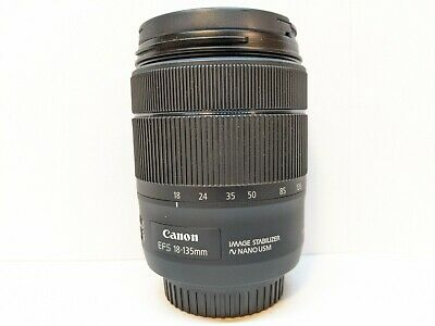 Canon EF-S 18-135mm f/3.5-5.6 IS Nano USM Zoom Lens - EXCELLENT CONDITION !!!