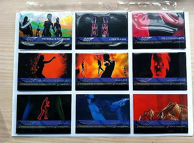 JAMES BOND QUOTABLE THEME SONG CARDS SINGLE CARDS OR SET .T1 TO T10..CHOOSE