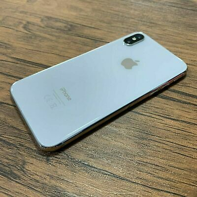 Apple iPhone X - 64GB - Unlocked - Silver (Excellent Condition) *NO FACE ID*
