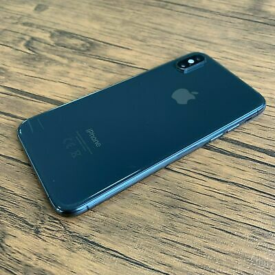 Apple iPhone XS - 64GB - Unlocked - Space Grey (Good Condition) *NO FACE ID*
