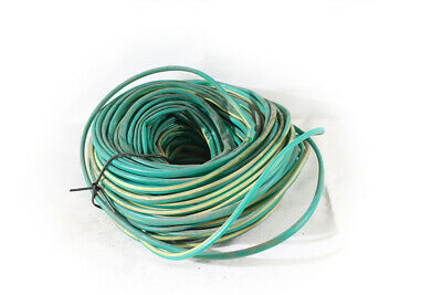 Large Reel Insulating Protective Hose Cable Cable Hose 8/9,4mm Green Yellow