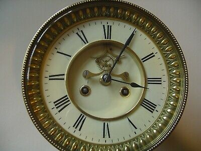 large Visible Escapement Movement, Dial, Pendulum & Bezel for parts 1/4 chiming