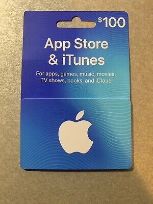 $100 App Store  iTunes Gift Card