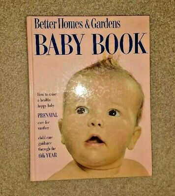 VINTAGE BETTER HOMES & GARDENS BABY BOOK, 1960 EDITION 6th revision