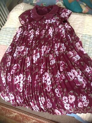Gorgeous Girls Floaty Summer Dress From F&F In Vgc Age 8/9 Years