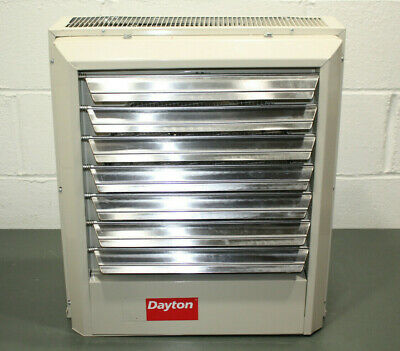 Dayton Electric Unit Heater 2YU70, 3 Phase, 480V AC, 10kW, Forced Fan 34100 BtuH