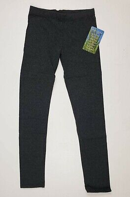 Insect Shield Repellent Girls Charcoal Gray Leggings SZ XL - NEW!
