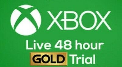 Xbox Live Gold Trial Code XBOX LIVE 2 Days (48 hours) GLOBAL - send by email