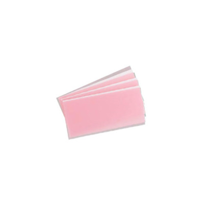 Miltex Integra 195-55500 Base Plate Dental Wax Light Pink 10/Pk 1 Lb
