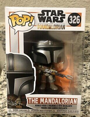 New Funko POP Disney Star Wars The Mandalorian #326 - In Hand And Ready To Ship!