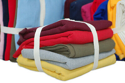 Sweatshirt Fleece Brushed Fabric,Remnants Pieces Material,5 PCS Bundles,Neotrims