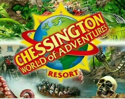 2× Chessington Tickets Friday 27Th March 2020