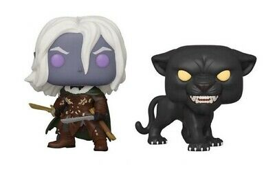 Funko POP! Games: Dungeons and Dragons Drizzt Do'Urden with Guenhwyvar Pre Order