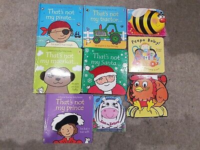 """Bundle Of """"That's Not My"""" Books Plus Other Baby Toddler Books"""