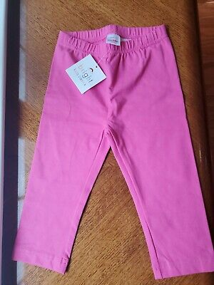 Hanna Andersson Girls Pink Capri Leggings NWT Size 110 5