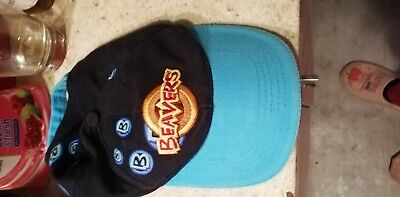 BEAVERS BASEBALL CAP HAT OFFICIAL UNIFORM size youth used condition