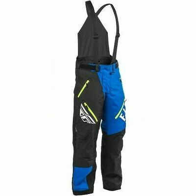 Fly Racing SNX Pro Bib 2XLarge Blue Black Hivis