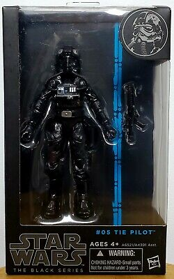 """Hasbro Star Wars Black Series 6"""" (Blue Phase) IMPERIAL TIE PILOT #05 (New!!!)"""