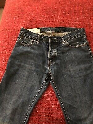 Men's Abercrombie & Fitch NY Remsen Low Rise Slim Straight Jeans Size 32 30