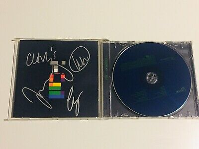 Coldplay signed autographed CD album Chris Martin Brits